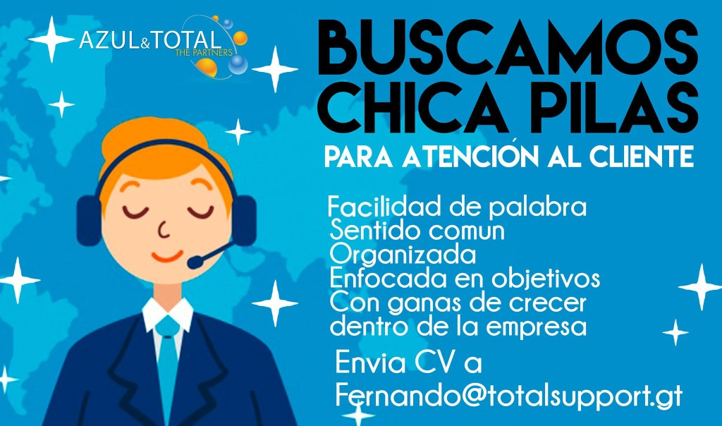 Total Support empleo Guatemala