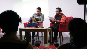 Lectura con música en vivo en la Alianza Francesa | Julio 2017