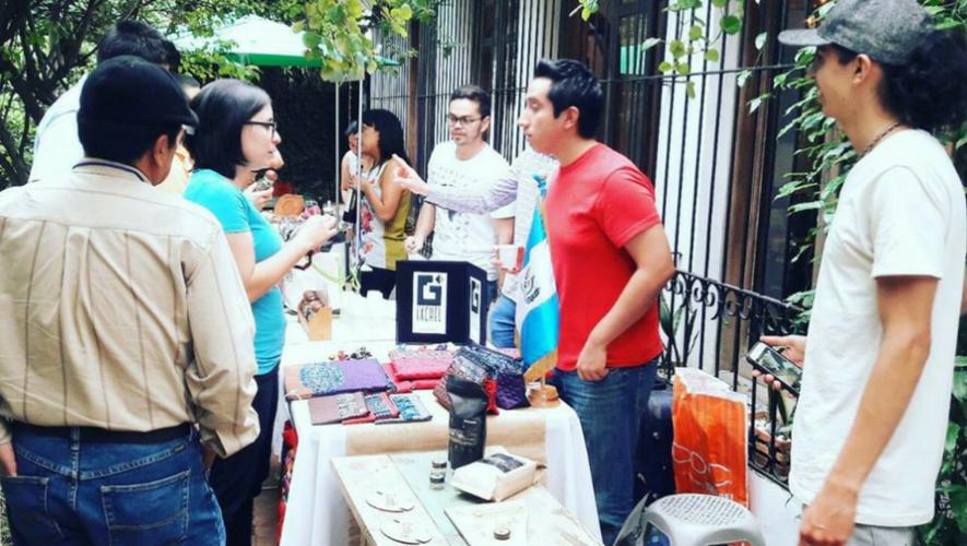 Marcadito ecológico en Verde Limón Restaurante   Junio 2017
