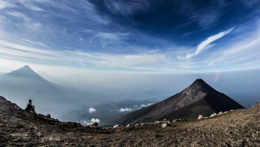 Ascenso nocturno al Volcán de Acatenango   Junio 2017