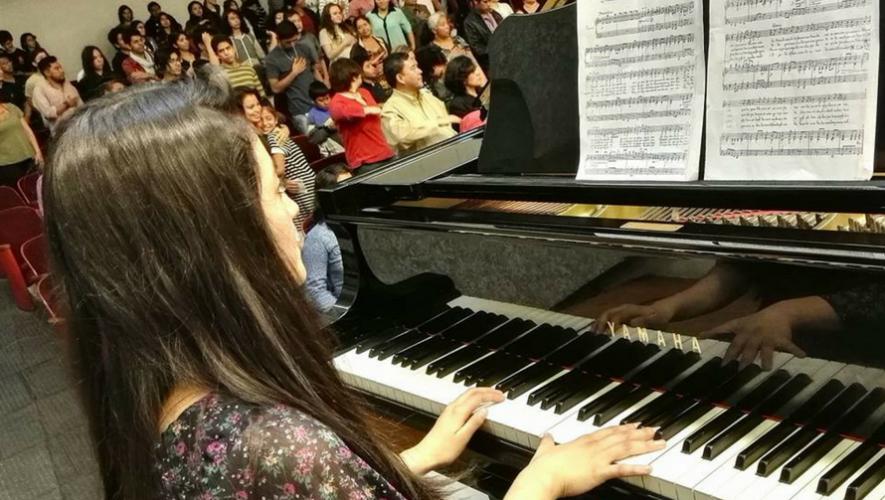 Recital de piano en el Conservatorio Nacional de Música   Junio 2017