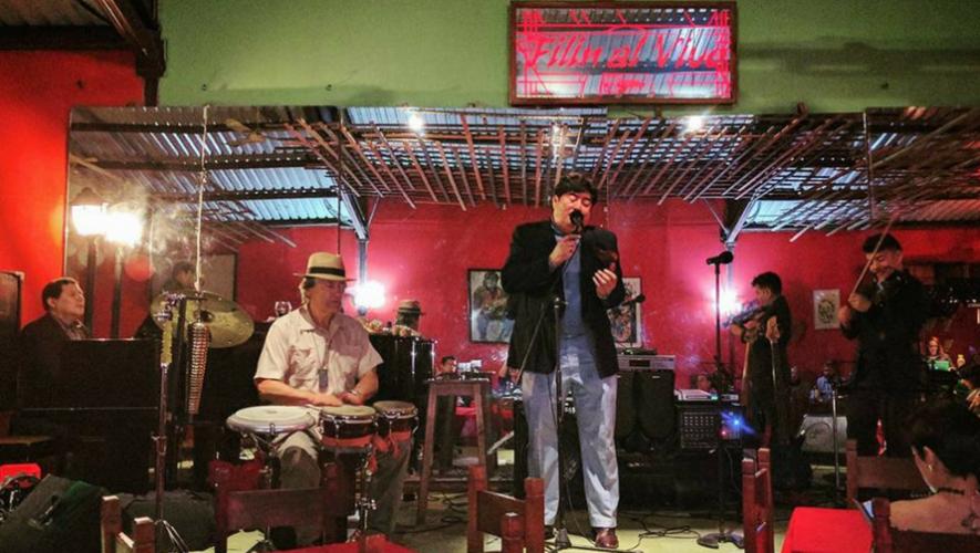 Noche de boleros y baladas para el Día del Padre en La Chasah | Junio 2017