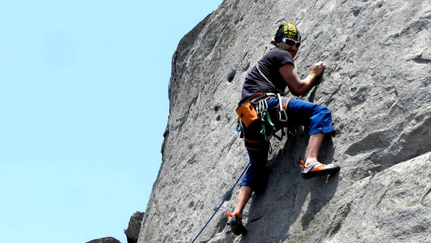 Escalada en roca y rappel en Filón de Amatitlán | Junio 2017
