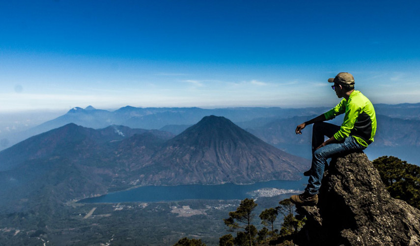 Ascenso al volcán Atitlán y Cerro de Oro   Junio 2017
