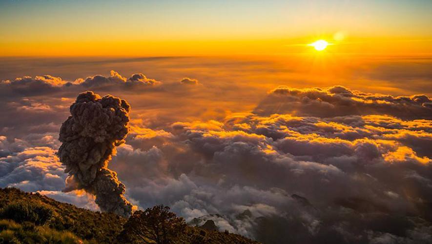 Ascenso al volcán Santa María y Cuxliquel | Junio 2017