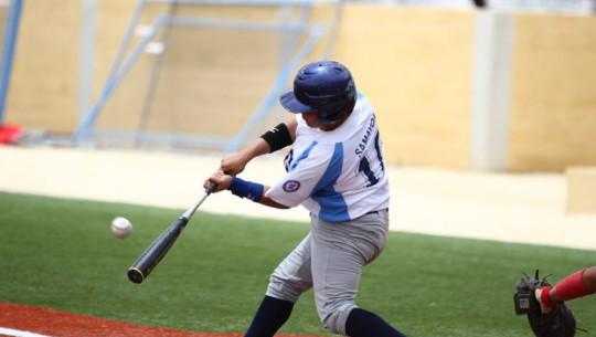 Estos tres beisbolistas buscarán representar a Guatemala en las ligas universitarias de Estados Unidos. (Foto: Vini Samayoa)
