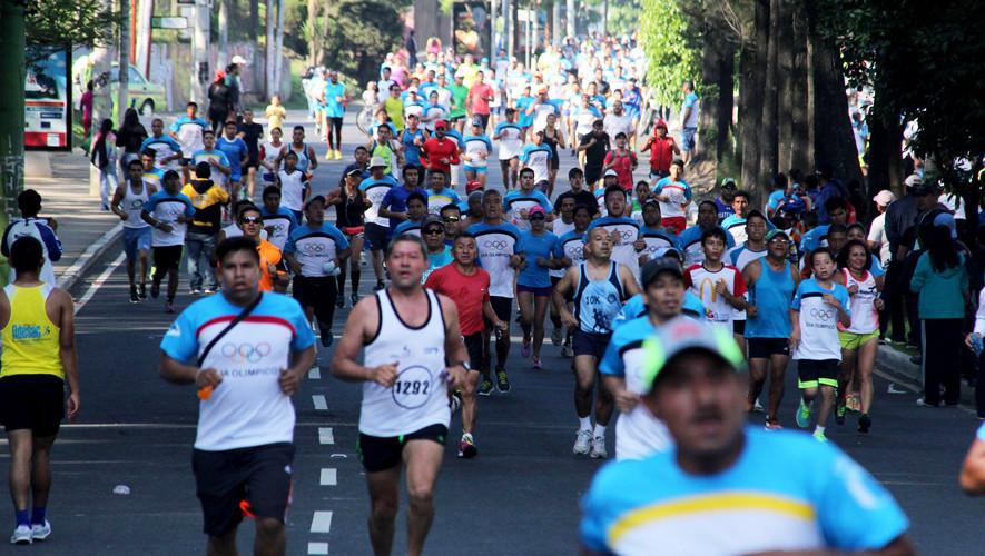 Carrera del Día Olímpico en Ciudad de Guatemala | Junio 2017