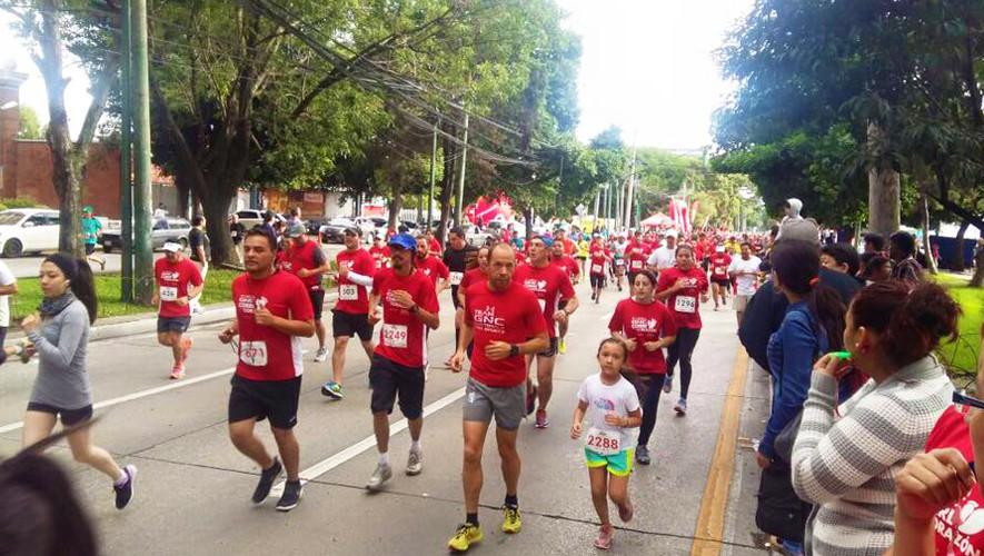 Carrera GNC Corre con el Corazón en Ciudad de Guatemala   Junio 2017