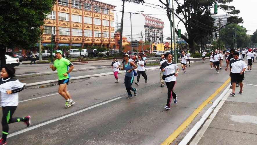 Carrera Junkabal en Ciudad de Guatemala   Junio 2017