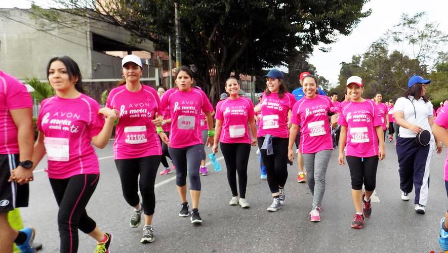 Carrera solo para mujeres 5K Rompe Tus Límites en Quetzaltenango | Junio 2017