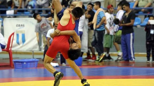 La Lucha Olímpicade Guatemala sigue con su preparación para los Juegos Centroamericanos. (Foto: CDAG)