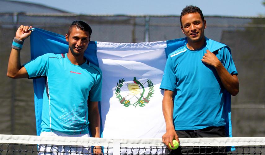Díaz y González compiten en Israel en busca de llegar a la final en singles y dobles. (Foto: COGuatemalteco)