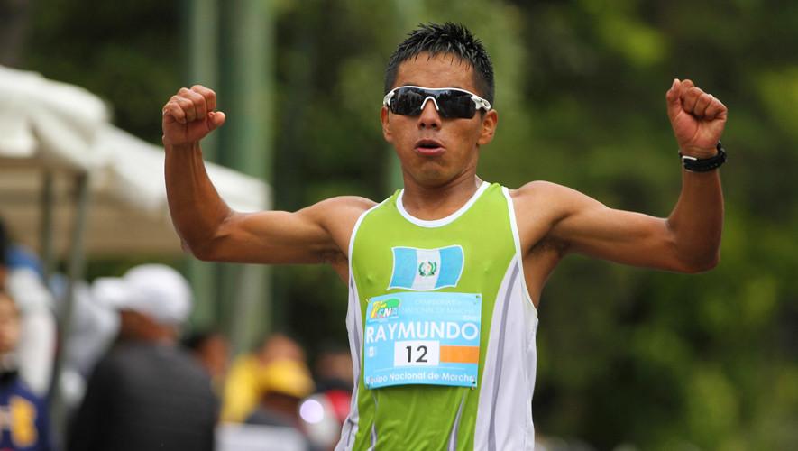 Jose Raymundo se clasificó al Mundial de Atletismo 2017 que se llevará a cabo en Londres. (Foto: COGuatemalteco)
