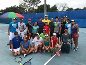 (Federación Tenis de Campo Guatemala)