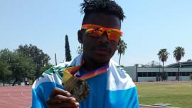 Gerber Blanco fue uno de los atletas más destacados durante la participación de la delegación en el Campeonato Mexicano de Atletismo. (Foto: FNA)