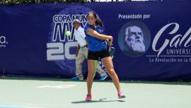Rut Galindo se perfila como una de las guatemaltecas favoritas para quedarse con el título de campeona. (Foto: Javier Herrera/Rackets & Golf)