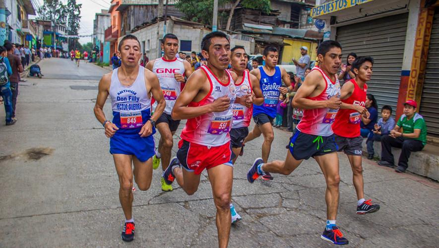 """Los últimos ganadores de esta Media Maratón fueron los guatemaltecos William Julajuj y Merlin Chalí. (Foto: Media Maratón San Juan """"La Carrera del Pueblo"""")"""