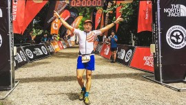 Sagastume finalizó los exigentes 80 kilómetros de esta competencia en 7 horas y 38 minutos. (Foto: Costa Rica Ecogreen)