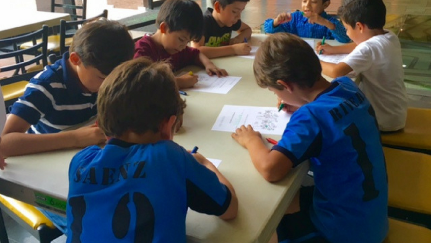 Taller de Juegos Matemáticos para niños en Museo Miraflores | Julio 2017
