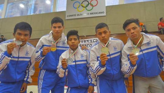 Guatemala se adjudicó 5 medallas durante la Copa de Lucha en México. (Foto: Mariano Ríos/ Comité Olímpico Mexicano)