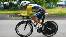 Manuel Rodas sigue imponiendo su condición como el mejor ciclista guatemalteco en la actualidad. (Foto: FGC)