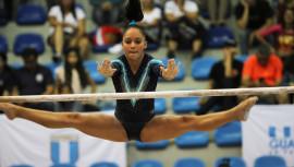 Melanie Godínez obtuvo las dos primeras medalla para Guatemala. (Foto: COGuatemalteco)