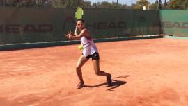 Weedon disputa su segundo torneo en Túnez, que forma parte del Circuito Femenino de la ITF. (Foto: Andrea Weedon)