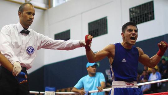 Michael Tello consiguió el segundo boleto de Guatemala para el Mundial de Boxeo. (Foto: COGuatemalteco)
