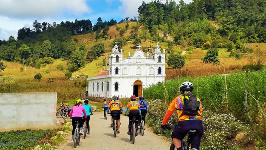 Recorrido en bicicleta en montañas de Tecpán, Chimaltenango | Julio 2017