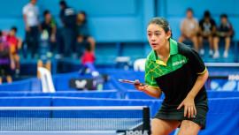 Lucía lidera la selección que buscará las medallas en la ciudad de Buenos Aires, Argentina. (Foto: ITTF World)