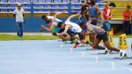 Los atletas de la universidad de San Carlos se llevaron el primer lugar del medallero general. (Foto: FNA)