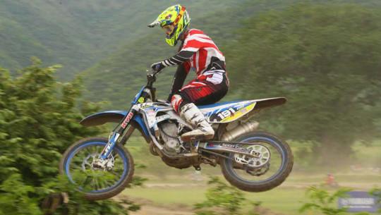 El costarricense Castro fue el gran dominador una vez más del Campeonato de Motocross. (Foto: CDAG)