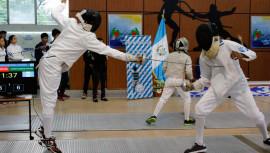 Los zacapanecos lograron dominar la segunda competencia a nivel nacional de esgrima. (Foto: Federación Nacional de Esgrima)