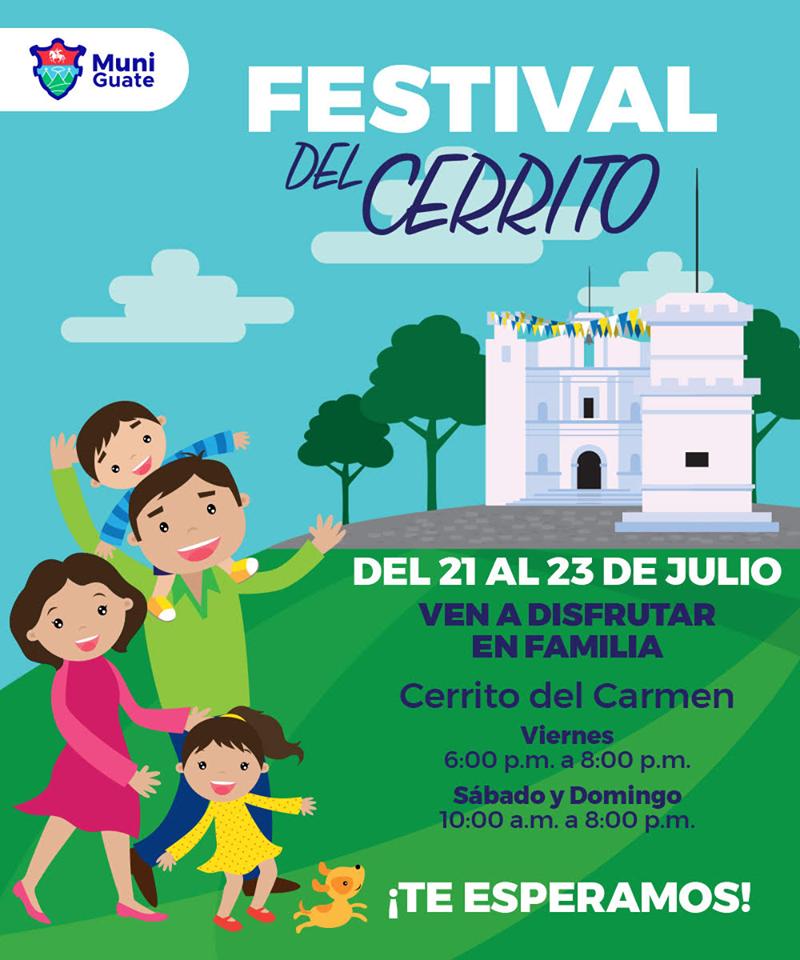 Actividades culturales gratuitas en el Festival del Cerrito 2017