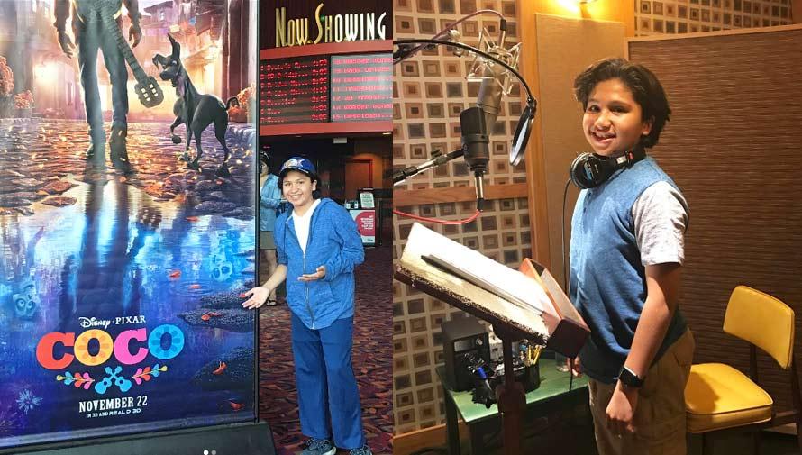 Anthony González interpreta la canción de la película Coco