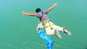 Salto de Bungee en Río Dulce | Septiembre 2017