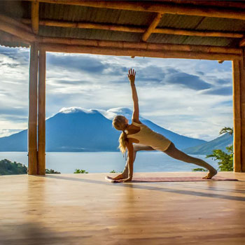 Clases de yoga en San Marcos La Laguna