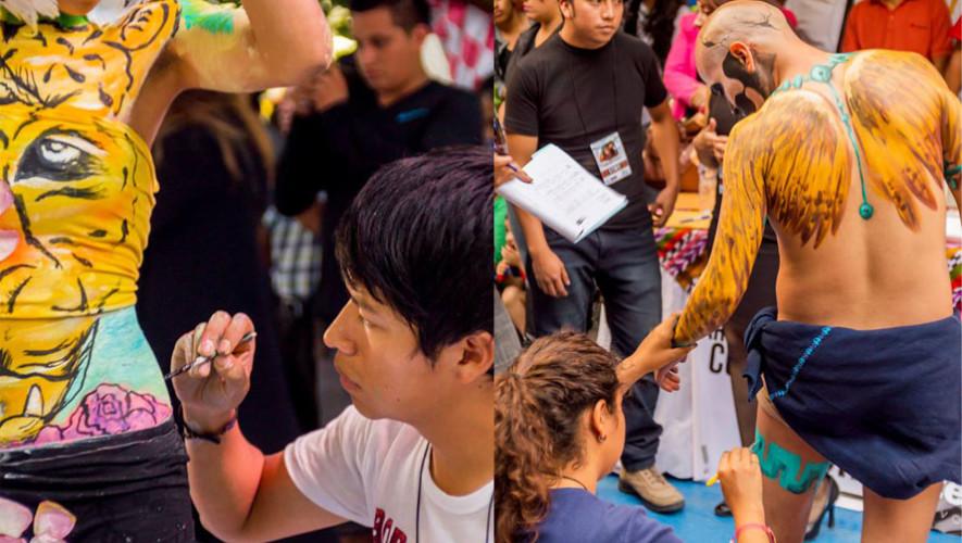 Convocatoria para el Festival de Body Paint, Ciudad de Guatemala