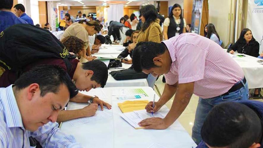 Convocatoria para plazas de trabajo en Guatemala, julio 2017