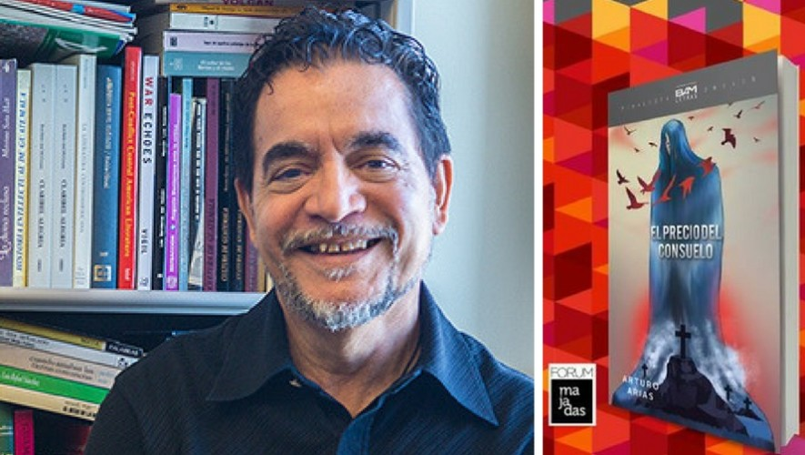 """Presentación del libro """"El precio del consuelo"""" en FILGUA   Julio 2017"""