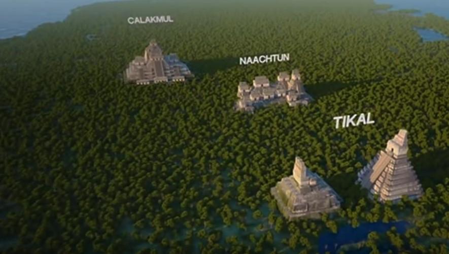 Documental sobre Naachtún, la gran y última Ciudad Maya, en Petén