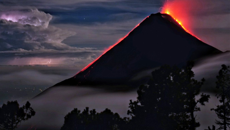 Foto del Volcán de Fuego en Guatemala destaca en The Washington Post