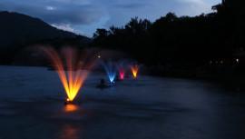 Fuentes luminosas ayudarán a la oxigenación del Lago de Amatitlán