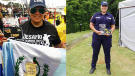 Guatemalteca obtiene el segundo lugar en el Desafío de Bomberos, Costa Rica 2017