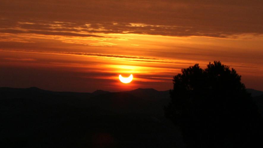 Hora y fecha del eclipse parcial de sol en Guatemala, julio 2017