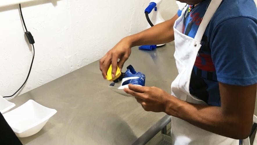 Londri Llega a Guatemala la primera lavandería especializada en zapatos