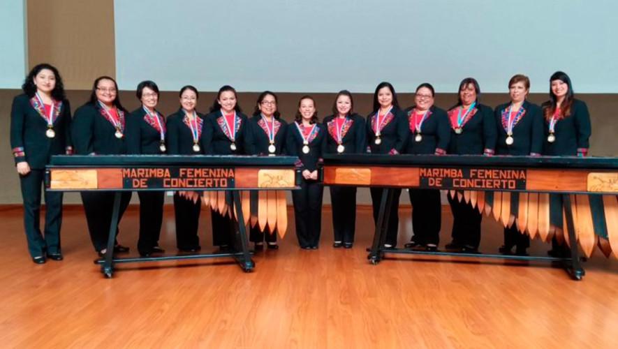 Marimba Femenina de Concierto realiza conciertos en Sudamérica