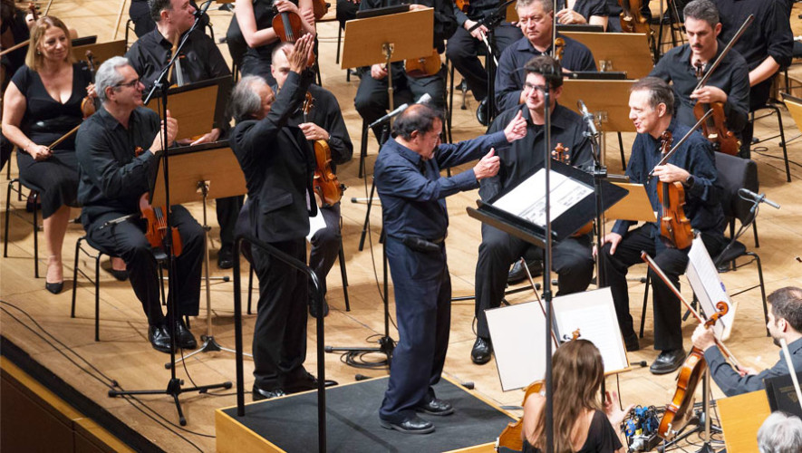 Músico Joaquín Orellana presentó Sinfonía desde el Tercer Mundo 2017