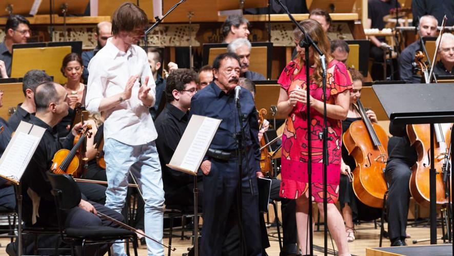 Músico Joaquín Orellana presentó Sinfonía desde el Tercer Mundo