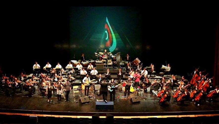 Tributo sinfónico a Pink Floyd en Guatemala   Noviembre 2017